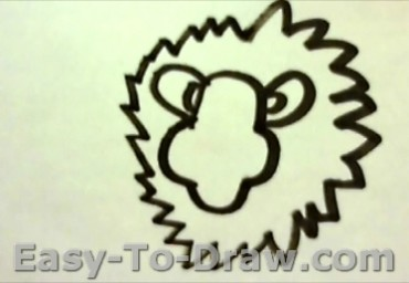 How To Draw Lion 3