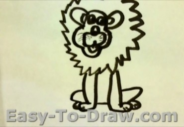 How To Draw Lion 6
