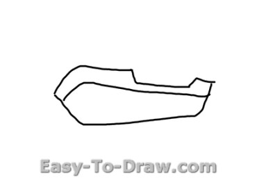 How to draw boat 01