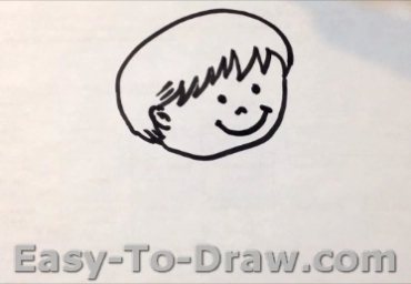 How to draw boy 02