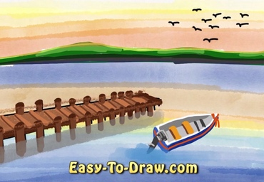How to draw dock