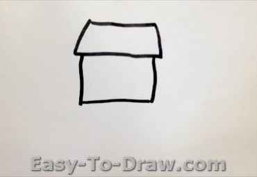 How to draw garden 01