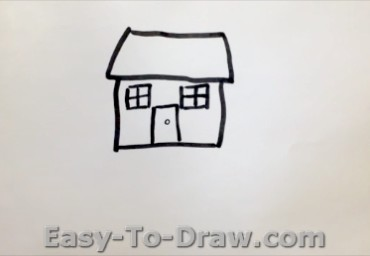 How to draw garden 02