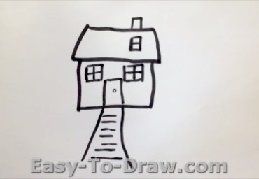 How to draw garden 03