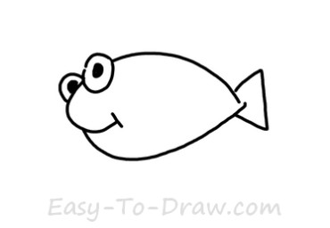 how to draw goldfish 02