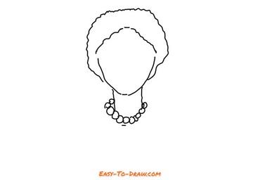 How to draw grandma