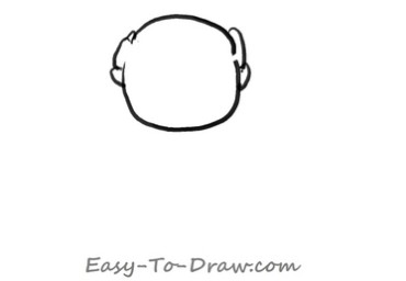 How to draw grandpa 01