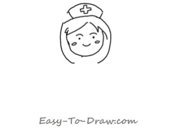 How to draw nurse 02
