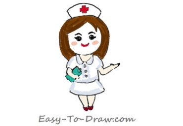 How to Draw Nurse