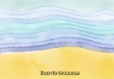 How to draw ocean