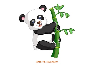 How to draw Panda