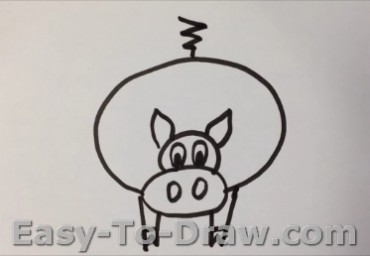 How To Draw Little Piggy for Kids