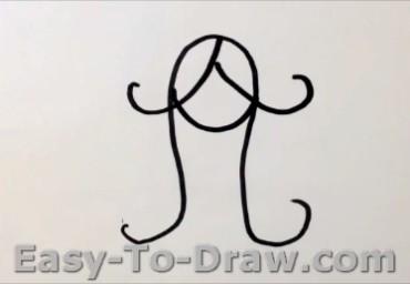 How to draw princess 02