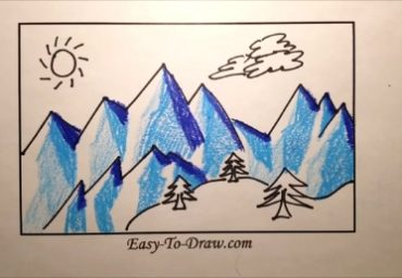 how-to-draw-snow-mountain-05