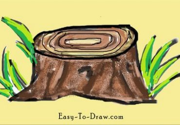 How-to-draw-stump