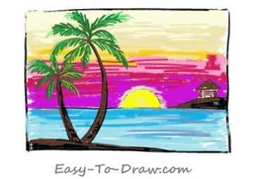 How-to-draw-sunset