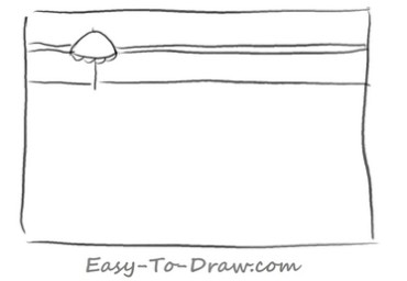 How to draw swimming pool 01