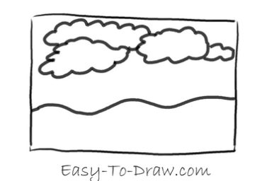 How to draw thunder storm 01
