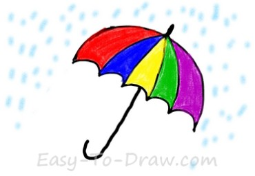 How-to-draw-umbrella