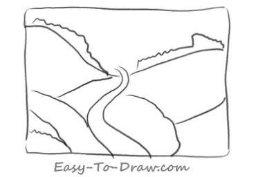 How to draw valley 02