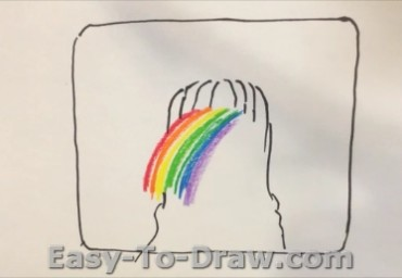How to draw waterfalls 02