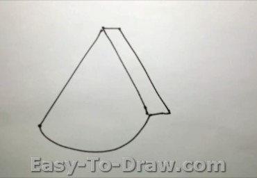 How To Draw A Piece Of Watermelon For Kids Easy To Draw Com