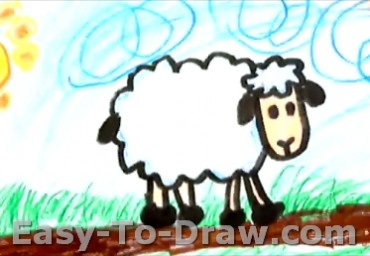 How-To-Draw-Sheep