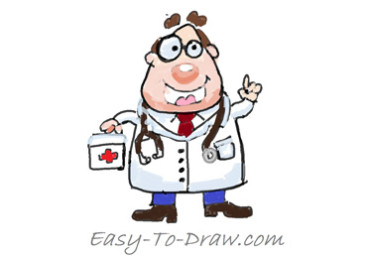 How-to-draw-doctor