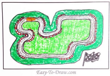 How-to-draw-race-track