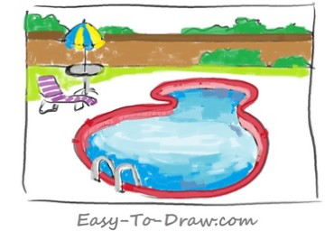 How-to-draw-swimming-pool